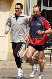 Steffen Meyer und Jürgen Tuch blieben in diesem Jahr bei den Deutschen Seniorenmeisterschaften ohne Medaille