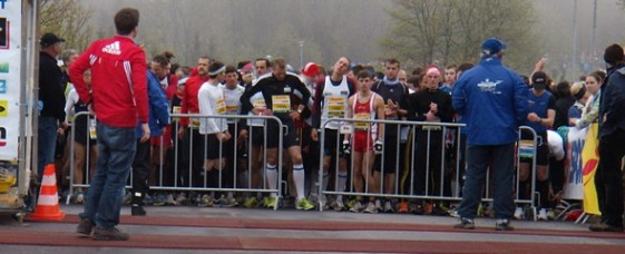 Start zum Rennsteiglauf-Halbmarathon 2010