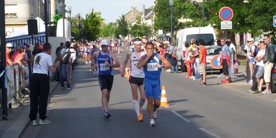 10 Kilometer Gehen bei der Senioren-EM in Yutz