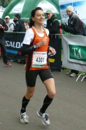 Die Vorjahressiegerin Kristin Hempel startet dieses Jahr nicht beim Marathon