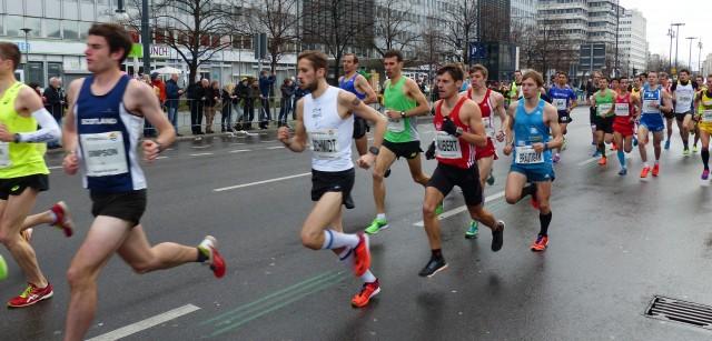Stefan Hubert und Marcel Bräutigam kurz nach dem Start
