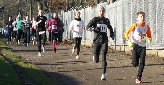 Carolin Gläser gewann den 4-Kilometer-Lauf bei den Frauen