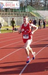 Manuel Stöckert hatte fast drei Minuten Vorsprung