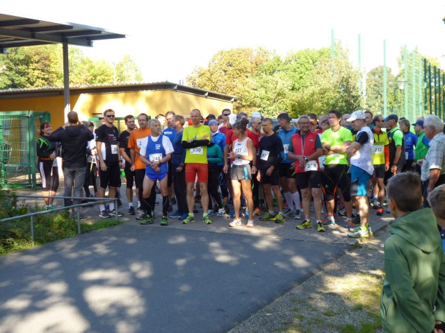Am Start in Saalfeld