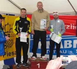 Die Sieger der 25-km-Strecke