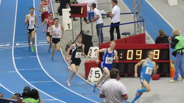 3.000m Finale mit Philipp Reinhardt (314)
