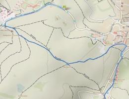 Streckenführung Halbmarathon - Start und die ersten 5 Kilometer (durch Anklicken vergrößern)
