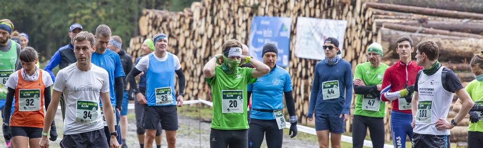 Individueller 43. Lange-Bahn-Lauf 2021 mit Marathonstrecke