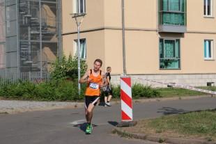 Adrian Panse vom USV auf dem Weg zum Sieg.
