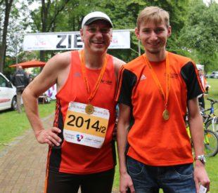 Jens und Adrian Panse gewannen zum zweiten Mal die 2x50 Kilometer-Staffel.