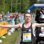 Christian Seiler mit fantastischer Streckenrekordzeit beim Zieleinlauf