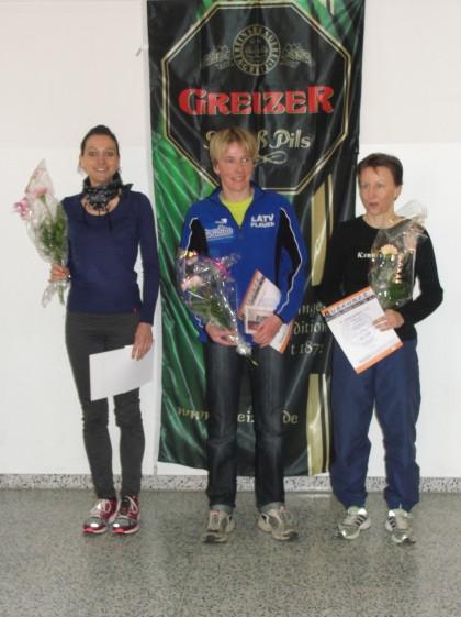 Die Siegerinnen über 10 km