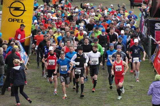 Start zum Marathon des Kyffhäuser-Berglaufs 2013