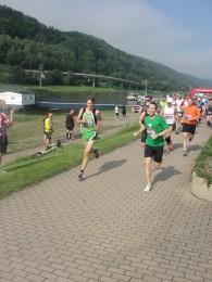 Start des 30-km-Laufs