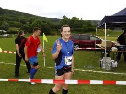 Anna Levi, die Überraschung im 16-Kilometer-Lauf