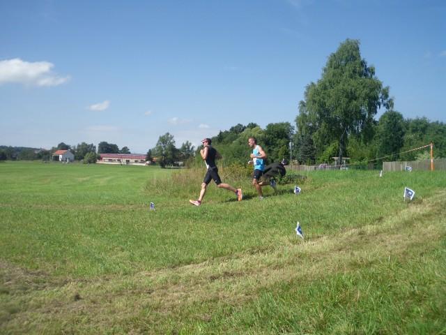 Die beiden Ersten bei den Männern Oliver Lehnert und Markus Gräf