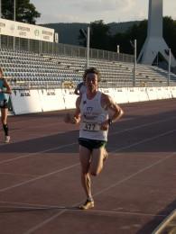 Markus Koch beim Zieleinlauf