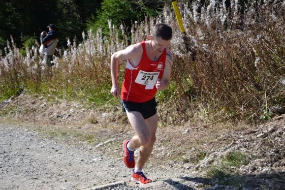 Christian Seiler dieses Jahr bei seinem Sieg beim Fichtelberglauf