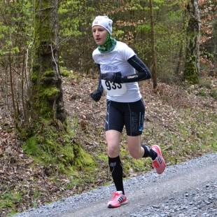 Die Thüringer Berglaufmeister Nicole Kruhme...