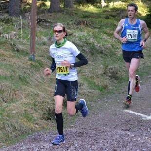 Nicole Kruhme, hier auf der Halbmarathonstrecke im Vorjahr, zeigte bei einigen Volksläufen bereits ihre gute Form