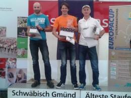 Siegerehrung des Europacups der Ultramarathons