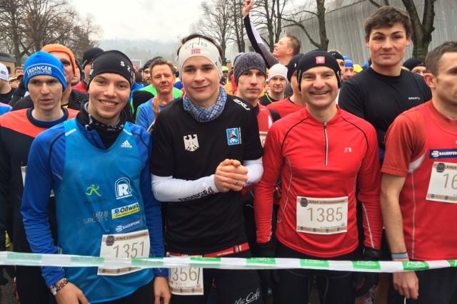 Start zum 10-Kilometer-Lauf