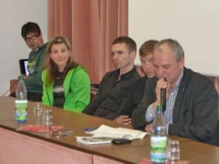 Gesprächsrunde mit Rennsteiglaufsiegern
