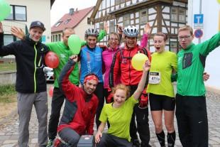 Das Haglöf-Laufteam Erfurt kam erneut als bestes Mixteam ins Ziel.