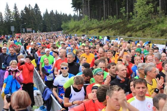 Halbmarathonstart in Oberhof (Foto: Foto-Voigt)