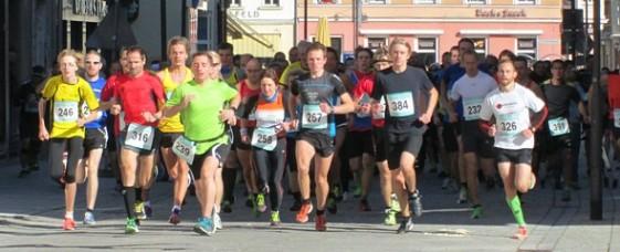 Start zum 23. Meininger Citylauf über 10 Kilometer