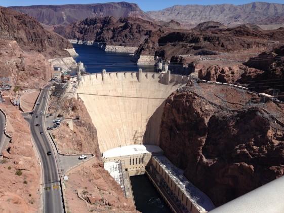 Hoover Damm, ein beeindruckendes Erlebnis