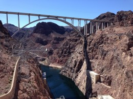 Der Interstate zum Hoover Damm