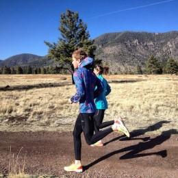 Wir haben auch trainiert. Der bei amerikanischen Läufern berühmte Buffalo Park auf 2300 m Höhe