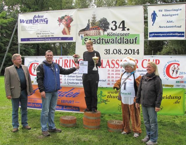 20 km Frauen: 1.Platz - Diana Müller