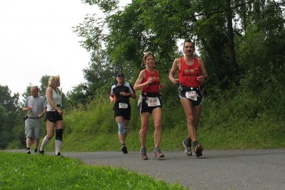 Nach 50 km ist die Hälfte beim Thüringenultra geschafft.