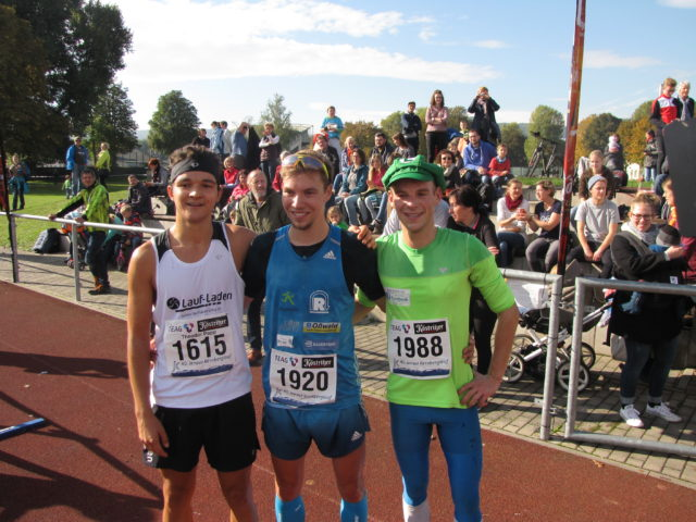 Die Sieger der 15-km-Distanz