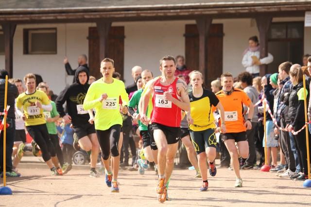 Christian Seiler (163) mit einem klaren Start-Ziel-Sieg in Rudolstadt