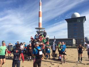 Treffen der Läufer aus Niedersachsen und Thüringen am Start