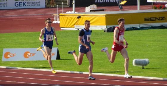 Sebastian Keiner erkämpfte sich Rang Zwei hinter Carsten Schlangen