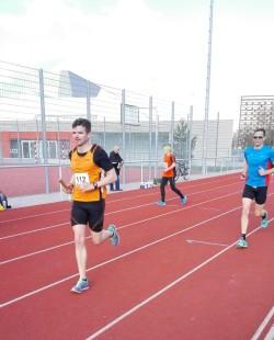 Jörg Pfeuffer vom USV Erfurt zeigte sich gut erholt vom Berlin-Halbmarathon (Foto: Ursula Finger)