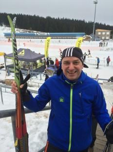 Laufszene-Autor Jens Panse vor dem Start