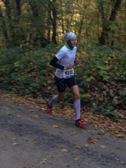 Nicole Kruhme konnte sich über den Sieg auf der 27 Kilometer Strecke freuen.