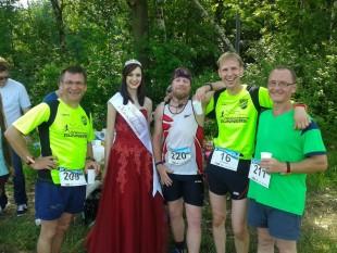 Auch wenn der Kirschlauf in diesem Jahr wieder zum Thüringen Cup gehörte, kommen doch die meisten Läufer aus der Region.