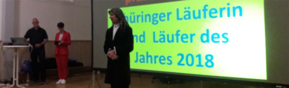 Thüringer Läufer 2018: Daniela Oemus und Stephan Bayer