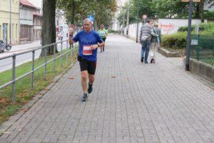 In der Erfurter Innenstadt ist für die Läufer ein guter Orientierungssinn erforderlich.