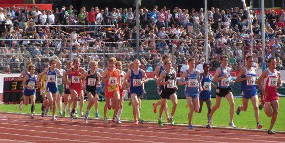5000m Lauf der Männer