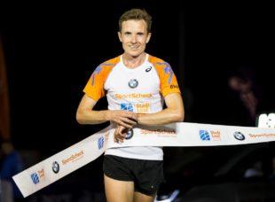 Marcel Krieghoff wurde Stadtmeister über 10 Kilometer und gewann auch noch die 5 Km-Kurzdistanz (Foto: Veranstalter/Oliver Farys)