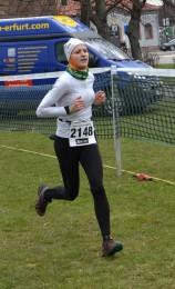 Nicole Kruhme - Siegerin der 14km-Strecke