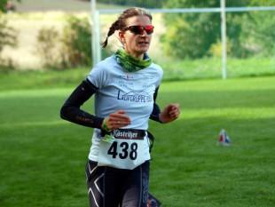 Nicole Kruhme - Siegerin über 11 km