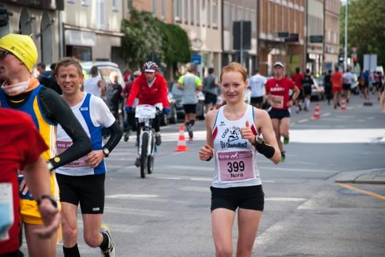 Deutsche Meisterschaften im Marathon 2013 in München.